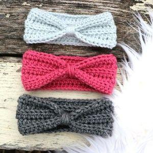 Handmade Baby Crochet Headband Ear Warmer Headwrap